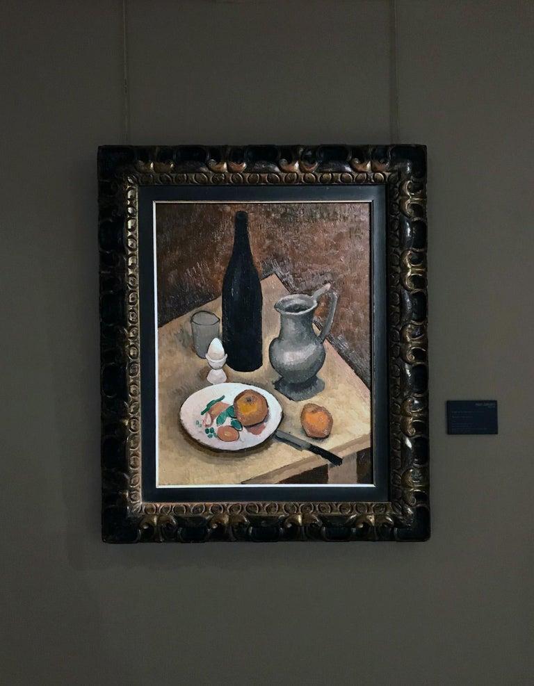 Nature morte à l'oeuf - Roger de la Fresnaye, still life, modern, french, fruit For Sale 4