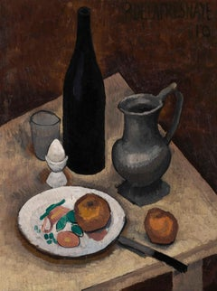 Nature morte à l'oeuf - Roger de la Fresnaye, still life, modern, french, fruit