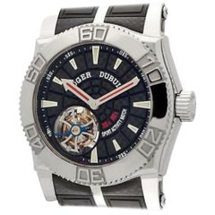 Roger Dubuis Easy Diver SE48029, Black Dial, Certified and Warranty