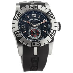 Roger Dubuis Easy Diver SED46-14-91-00/09A10/A, Blue Dial