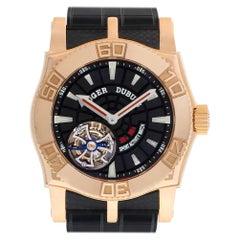Roger Dubuis Easy Diver Tourbillon SE48 02 5 K9.53 18 Karat Rose Gold Limited
