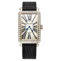 Roger Dubuis Muchmore Rectangular Dial and Diamond Bezel #203546