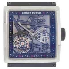 Roger Dubuis Titanium King Square Tourbillon Watch Limited Edition of 280