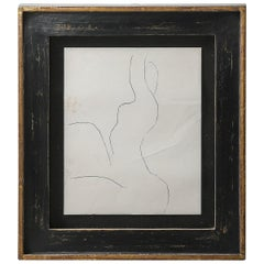 Roger Hilton, Three Works 'Untitled' Charcoal and Pencil on Paper, circa 1970