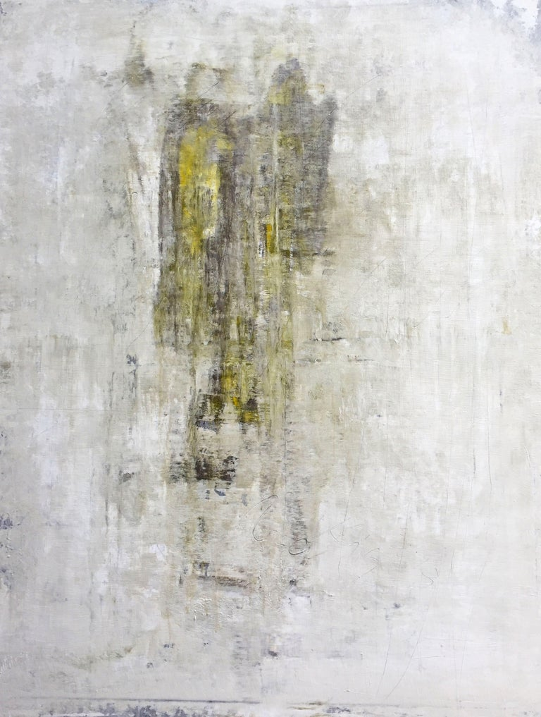 """Roger König Abstract Painting - """"1201 abstract two angels"""", Painting, Acrylic on Canvas"""