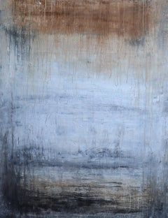 """""""1271 The Silence"""" Abstract, Landscape Painting, 21st Century, Acrylic"""