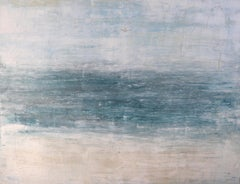 """1272 Abstract Siesta Beach"" - Abstract, Seascape Painting, 21st Century,"