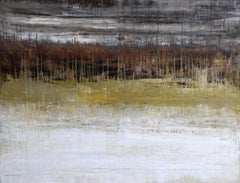 """""""1281 Gold Beach"""" - Abstract, Landscape Painting, 21st Century,"""