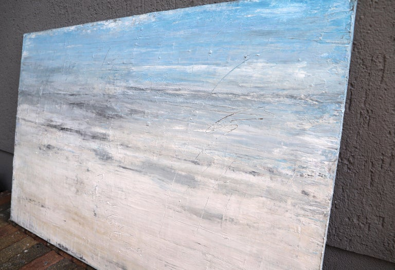 Artist: Roger König b. Dessau, Germany (1968) Master student of Kurt Schönburg, HWK Halle, Germany. König combines modern painting with acrylic with old techniques and in this way, he connects contemporary art with tradition. The natural clay color