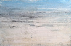 """1284 Kapalua Bay Beach #2"" Abstract, Seascape Painting, 21st Century, Acrylic"