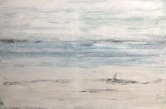 """1286 Kapalua Bay Beach #3"" Abstract, Landscape Painting, 21st Century, Acrylic"