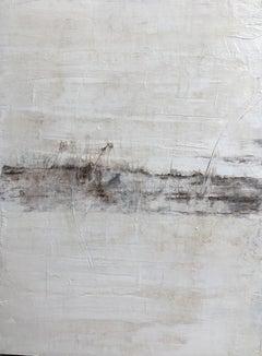 """1332 Antique White Elegance"" Part3, Painting, 21st Century, Acrylic"