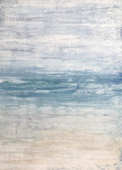 """1364 Maui Beach"" Part1, Seascape Painting, 21st Century, Acrylic"