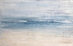 """1365 Maui Beach""  Part2, Seascape Painting, 21st Century, Acrylic"