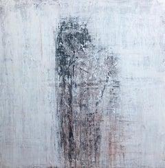 """1371 Innocence"" Figurative, Abstract, Painting, 21st Century, Acrylic"