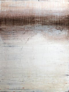 """1379 brown white exclusive"" - Abstract, Minimalism Painting, 21st Century,"
