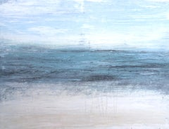 """1384 Hawaii Beach Series"" Abstract, Seascape Painting, 21st Century, Acrylic"