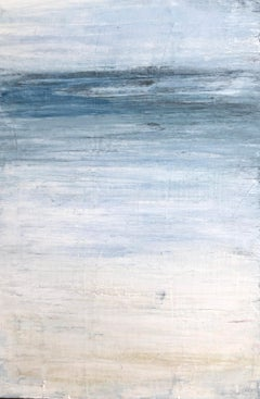 """1387 Beach Series"", Seascape Painting, Acrylic"