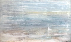 """1395 yearning for the sea."" Abstract, Seascape Painting, 21st Century, Acrylic"