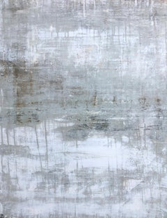 """1399 antique white elegance"" Abstract, Painting, 21st Century, Acrylic"