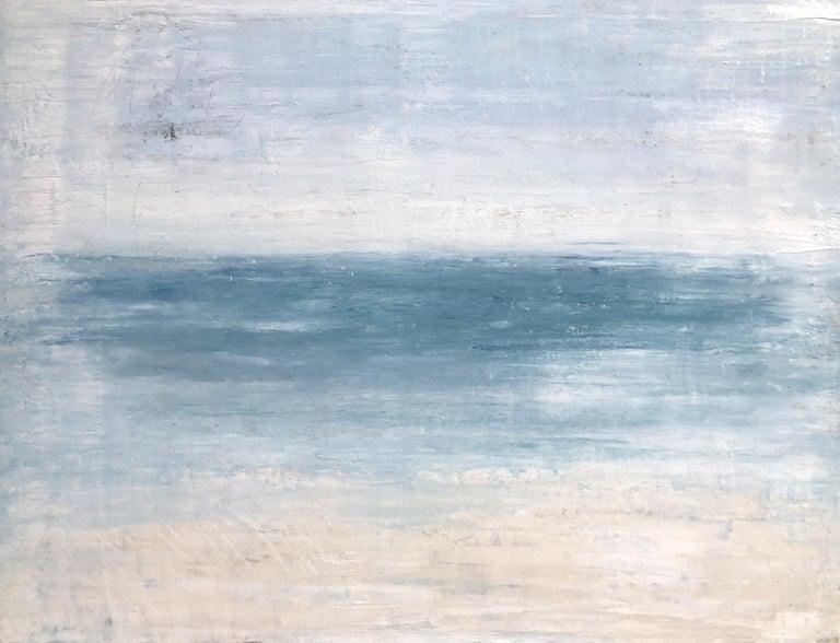 "Roger König Landscape Painting - ""1401 Hawaii Beach Series"" Abstract, Seascape Painting, 21st Century, Acrylic"