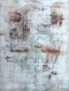 """""""1409 Antique Wall Series"""" Abstract, Painting, 21st Century, Acrylic"""