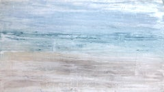 """1413 Hawaii Beach Series"" Abstract, Seascape Painting, 21st Century, Acrylic"