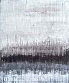 """""""Abstract Grey Elegance"""" S5A2, Abstract Painting ,21st Century, Acrylic"""