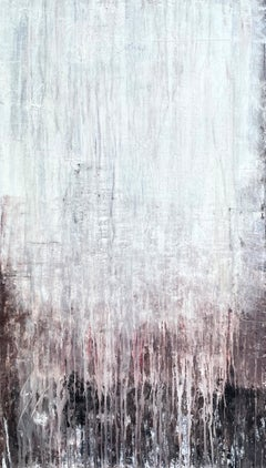 """""""abstract historic wall """"H4NG Abstract, Antique Painting, 21st Century, Acryl"""