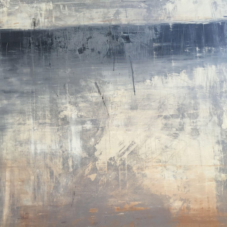 Roger König Abstract Painting - Abstract historic wall No.6, Painting, Acrylic on Canvas