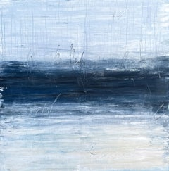 """""""Abstract Sea"""" F1 D4, Seascape, Abstract, Painting, 21st Century, Acrylic"""