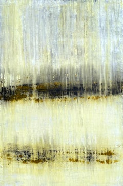 """""""Antique Gold Series"""" AA2E, Landscape, Abstract Painting, 21st Century, Acrylic"""