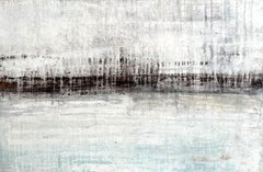 """Antique Horizon""LJ8Q Landscape, Abstract Painting, 21st Century,"