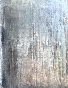 """""""antique silver wall"""" FD5S Abstract, 21st Century, Acrylic, Clay Painting"""