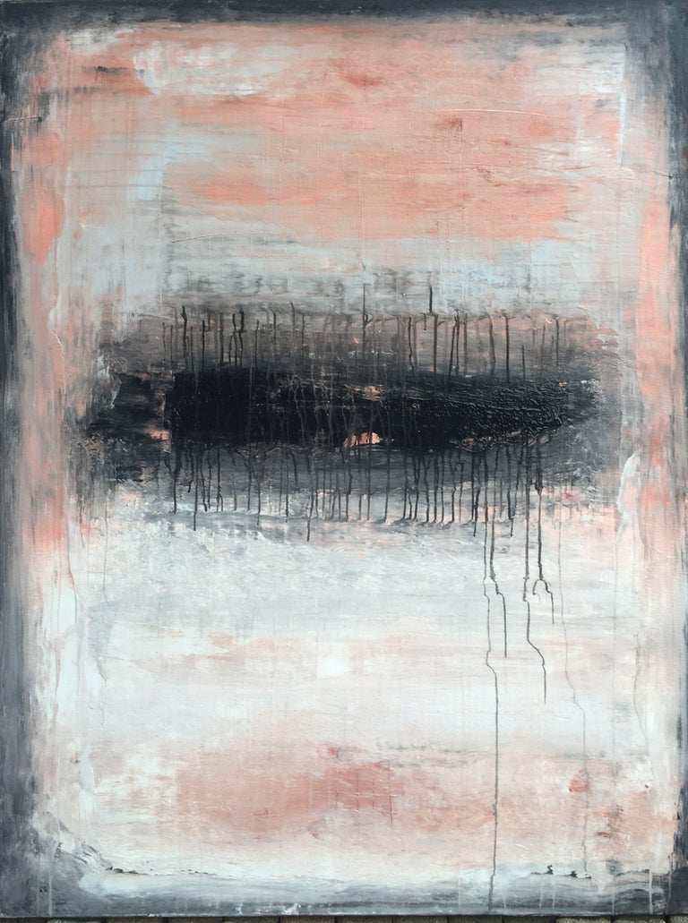 """Roger König Abstract Painting - """"Exclusive Drips Serie"""" 1114, Abstract, 21st Century, Acrylic"""