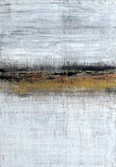 """Gold Horizon Series"" AP2K, Abstract, 21st Century, Acrylic"