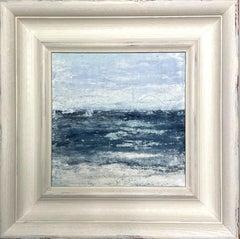 """Hawaii Beach Series"" 2V0G,  Abstract, Seascape Painting, 21st Century, Acrylic"