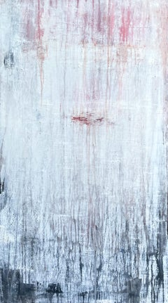 """""""historic white wall """" PP8H, Abstract, Antique Painting, 21st Century, Acryl"""