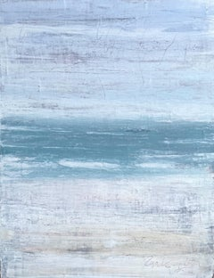 """""""Seascape Series""""GZ3T Abstract, 21st Century, Acrylic, Clay Painting"""