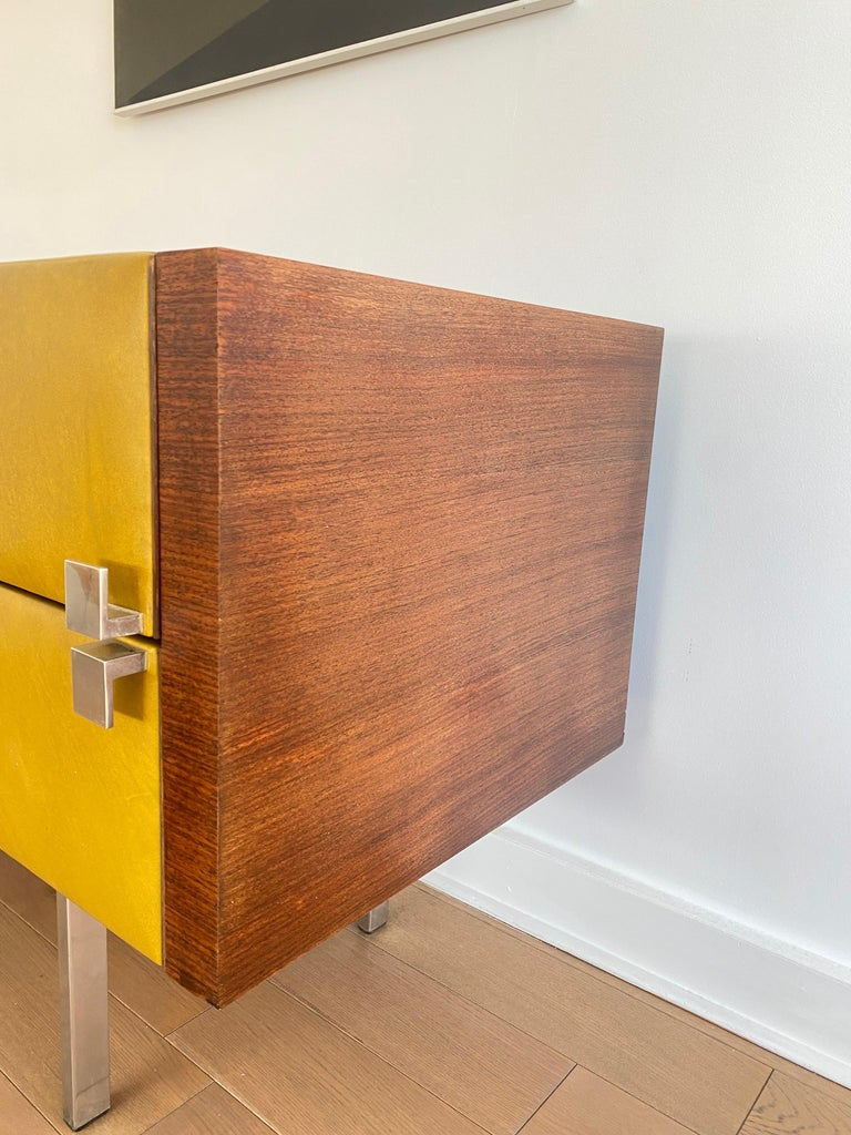 Mid-20th Century Roger Landault Chest Of Drawers For Sale