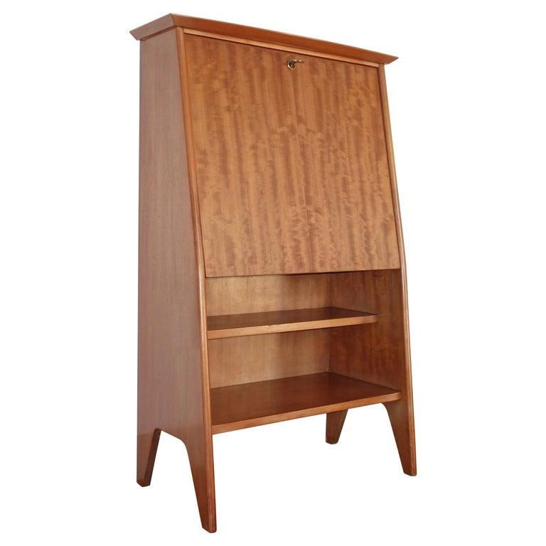 """Roger Landault """"Junior"""" Secretary Desk for ABC Furniture, French, 1950s"""