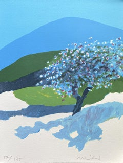 Cherry Tree in Provence - Original Lithograph Hand Signed Numbered - Mourlot