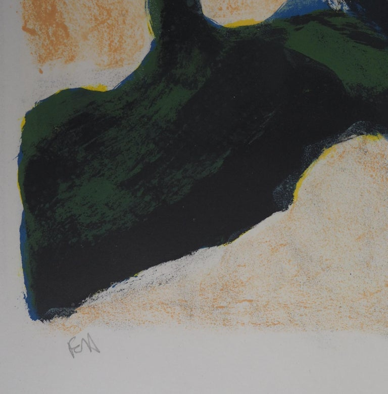 Tree in Provence - Original Lithograph Handsigned  1