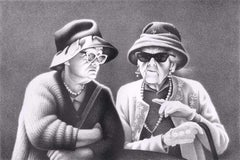 The Secret (Two nicely dressed elderly ladies share the latest juicy gossip)