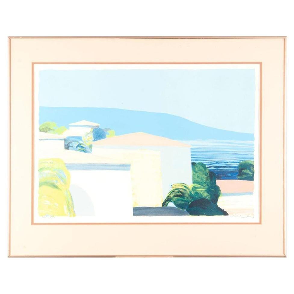 Roger Muhl Signed Lithograph