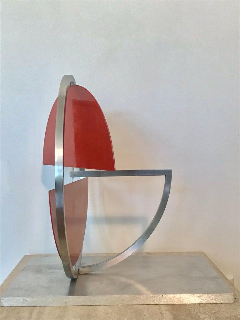 Metalwork Roger Phillips Kinetic Mobile Sculpture, 21st Century For Sale