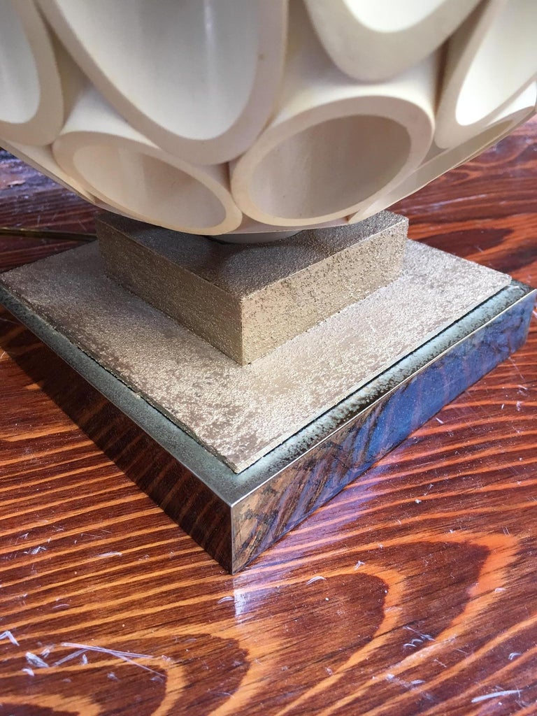 Roger Rougier Sculptural Post Modern Lamp For Sale 6
