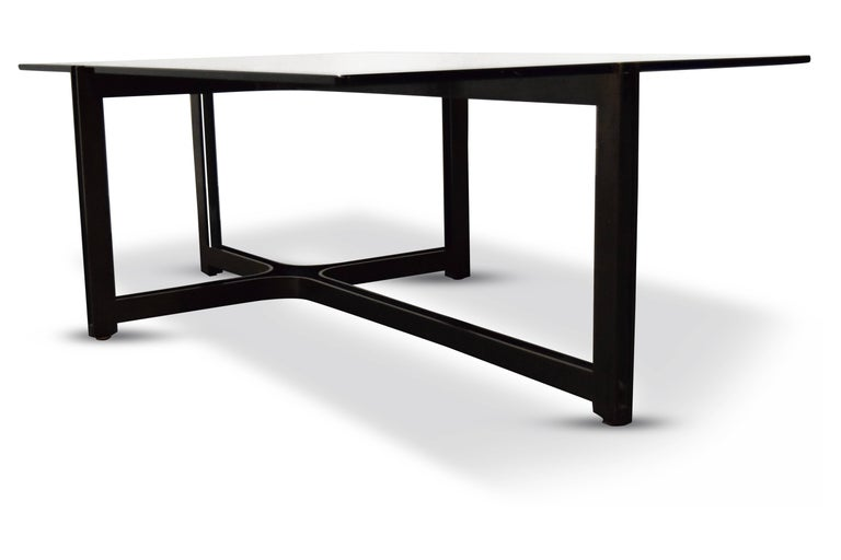 American Roger Sprunger for Dunbar Bronze Coffee Table For Sale