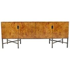 Roger Sprunger for Dunbar Burled Olivewood Sideboard or Credenza
