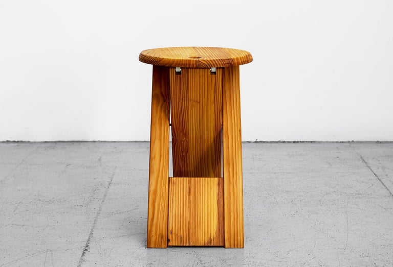 French Roger Tallon Stool For Sale